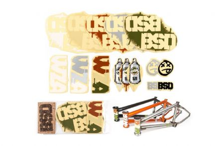 BSD Frame Sticker Packs - WZA 2014